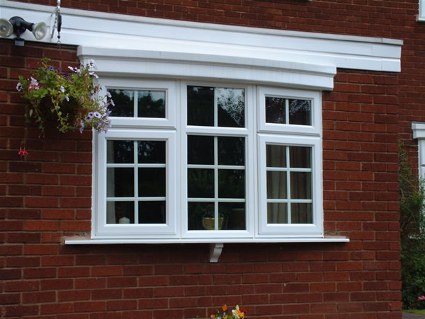 Pvcu double glazed windows spectus casements and tilt and for Best replacement windows for log homes